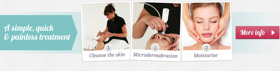 A simple, quick and painless microdermabrasion treatment and facial
