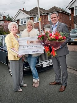Rolls Royce, flowers, fizz and facials for our Mothers Day winners