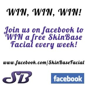 Follow us on facebook to win a facial a week!