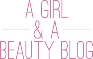 a girl and a beauty blog