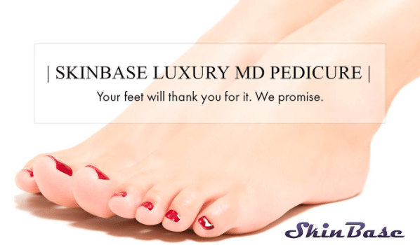 SkinBase microdermabrasion for… your feet!