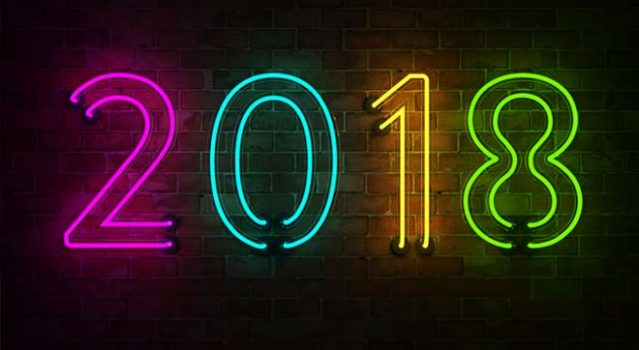 Out with the Old, In with the New – Happy New Year 2018!