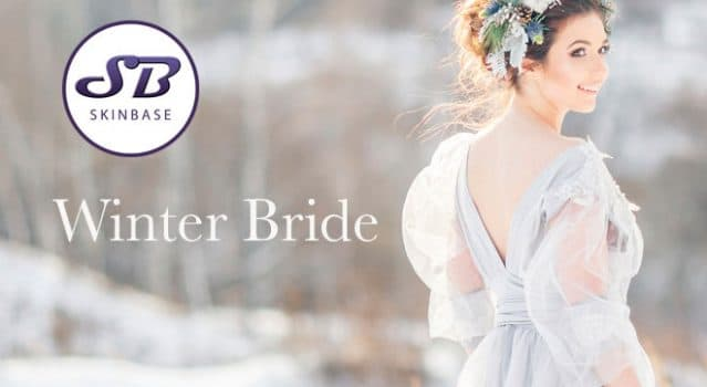 Winter Bride – Get your skin ready