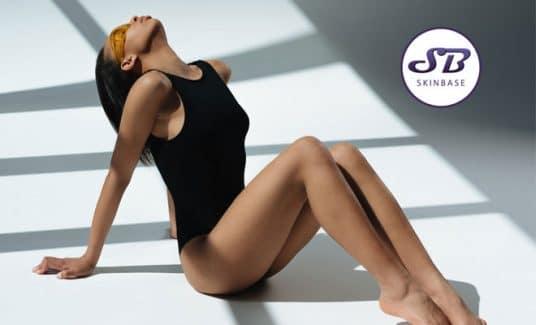 ultra-high-leg swimwear