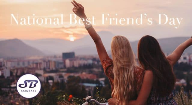It's National Best Friend's Day!