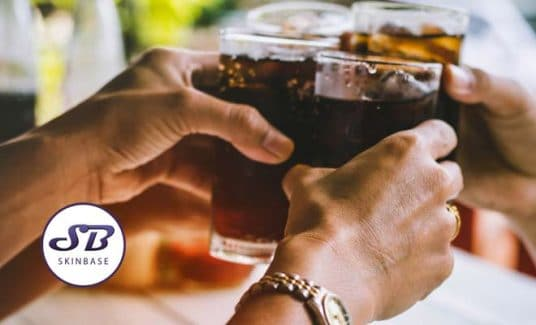 negative effects of alcohol on the skin